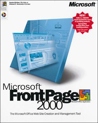 Installation of MS FrontPage 2000