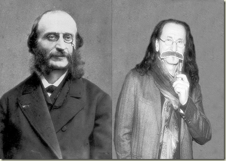 Geddy Lee meets Jacques Offenbach