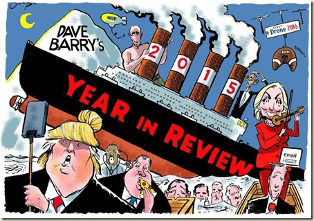 Dave Barry's 2015 Year in Review