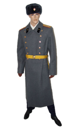 Soviet Army Armored Corps Officer Uniform