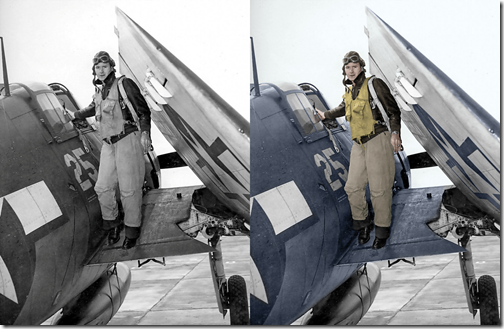 WWII-Navy-Pilot-Before-and-After