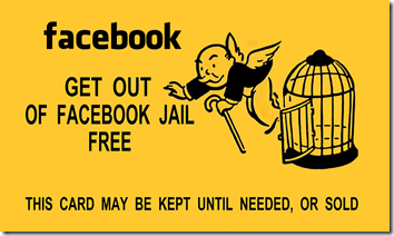 Get Out of Facebook Jail Free